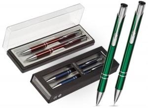 Zestaw długopis + ołówek